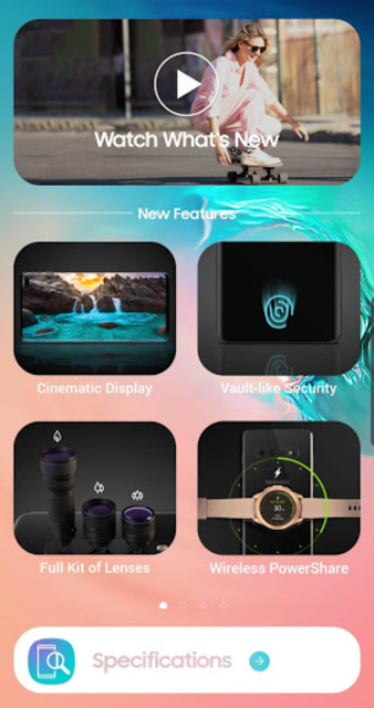 Experience app for Galaxy S10 screenshot 1