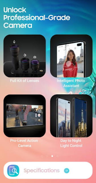 Experience app for Galaxy S10 screenshot 3