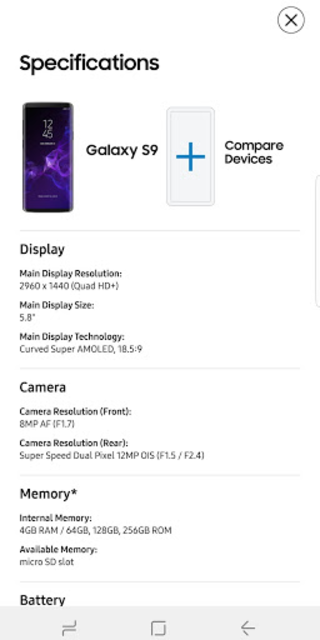 Experience app for Galaxy S9/S9+ screenshot 6