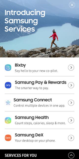 Samsung Services (US) screenshot 1