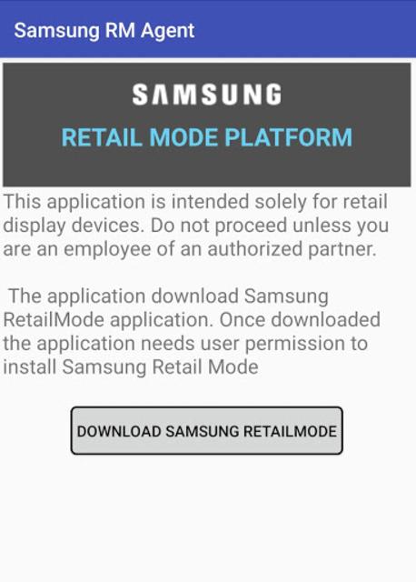 SAMSUNG RM AGENT 2019 screenshot 1