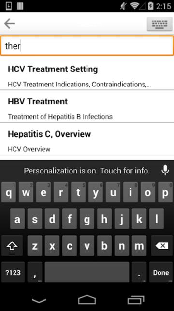 Sanford Guide:Hepatitis Rx screenshot 3