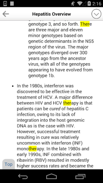 Sanford Guide:Hepatitis Rx screenshot 4
