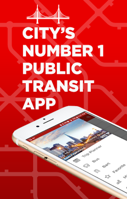 San Francisco Metro & Bus Tracker screenshot 1