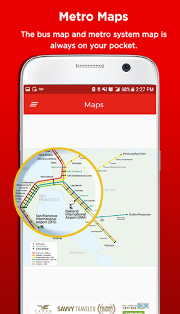 San Francisco Metro & Bus Tracker screenshot 5