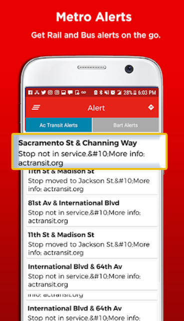 San Francisco Metro & Bus Tracker screenshot 7