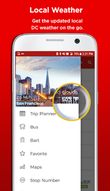 San Francisco Metro & Bus Tracker screenshot 8