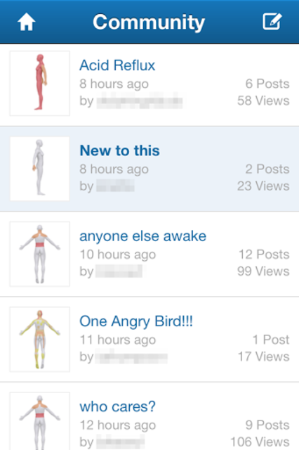 Pain Diary & Forum CatchMyPain screenshot 2