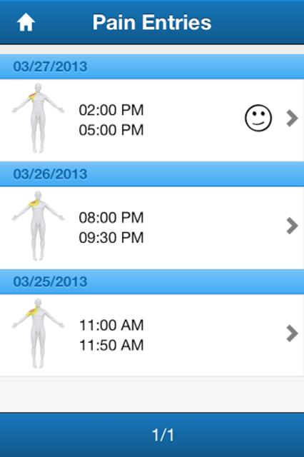 Pain Diary & Forum CatchMyPain screenshot 6