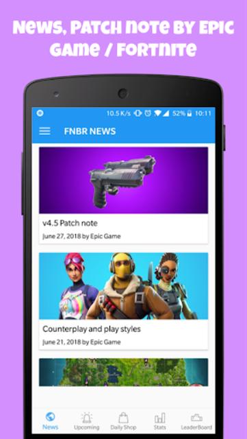 FNBR - News ,Daily Shop ,Leaks ,3D ,Emote Sound screenshot 4