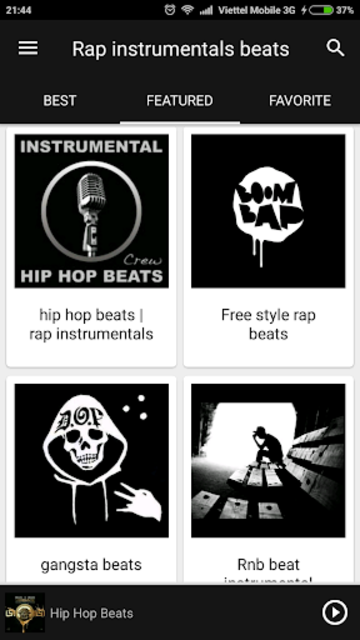 Instrumental rap beats screenshot 2