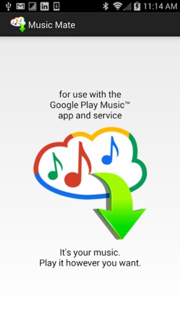 Music Mate screenshot 1