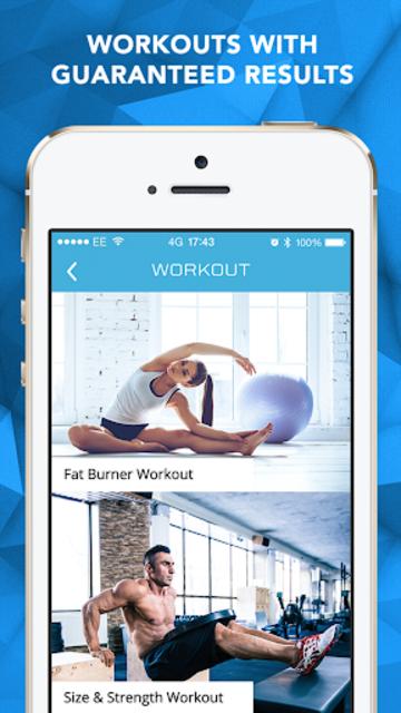 Ultra Fitness: Workouts & Meal Plans screenshot 3