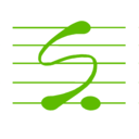 Icon for Score Creator: write music, compose sheet music.