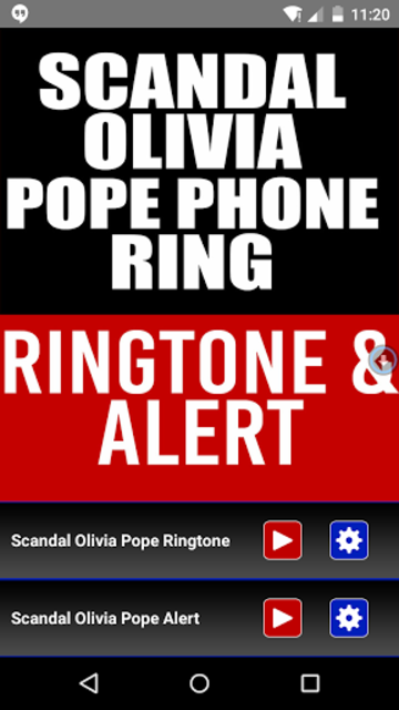 Scandal Olivia Pope Phone ring screenshot 1