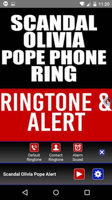Scandal Olivia Pope Phone ring screenshot 2