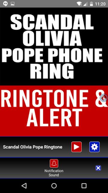 Scandal Olivia Pope Phone ring screenshot 3