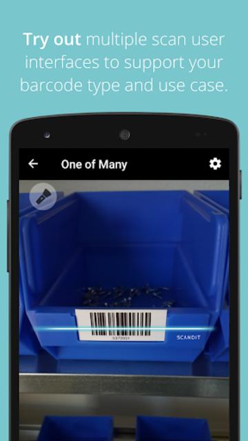 Scandit Barcode Scanner Demo screenshot 3