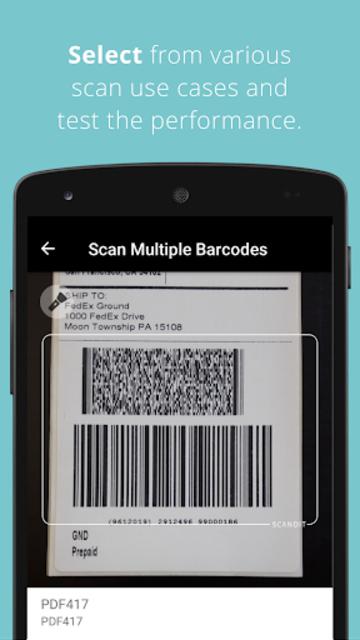 Scandit Barcode Scanner Demo screenshot 4