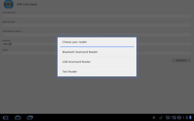 EMV Card Demo screenshot 3