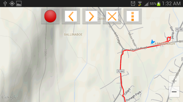 Route Recorder screenshot 4