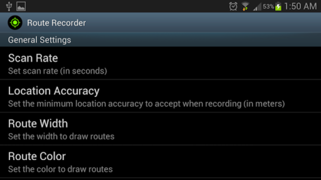 Route Recorder screenshot 9