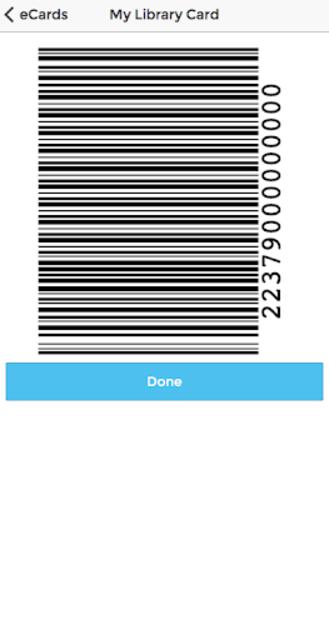 My Library Card screenshot 3