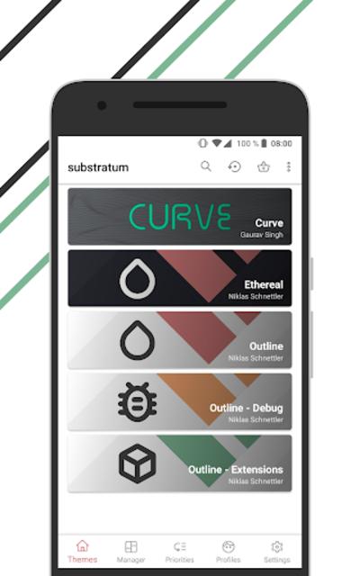 Outline for Substratum • Q, Pie, Oreo, Nougat