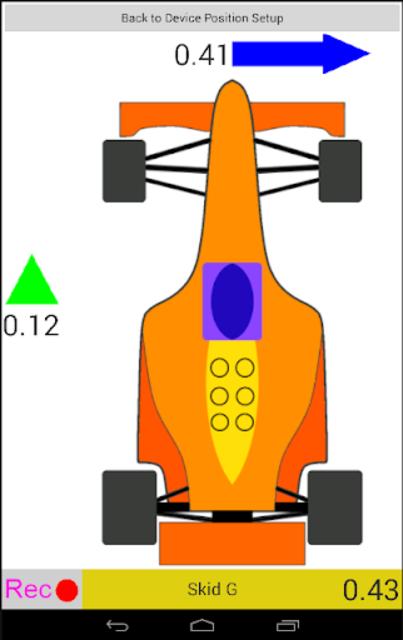 Axelomer Pro car accelerometer screenshot 7
