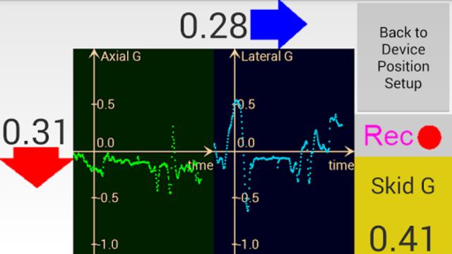 Axelomer Pro car accelerometer screenshot 2