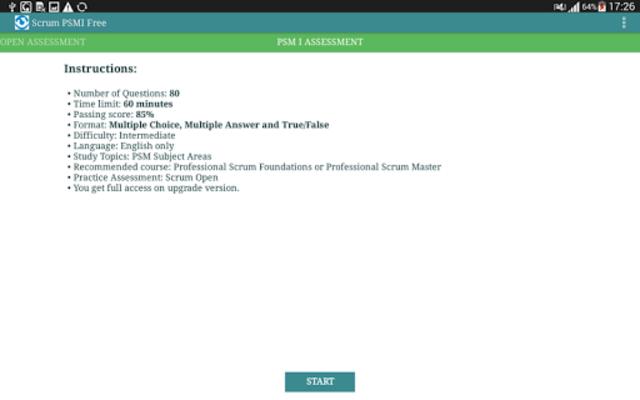 Scrum PSMI Free screenshot 10