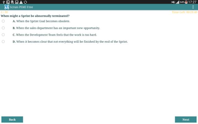 Scrum PSMI Free screenshot 11