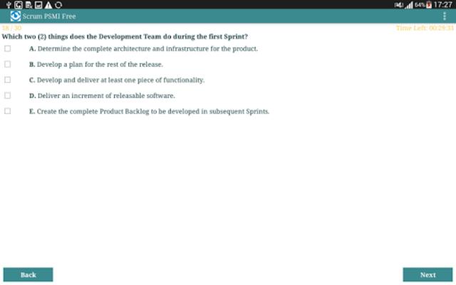 Scrum PSMI Free screenshot 12