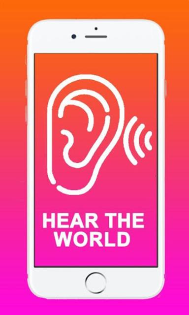 Hearing enhancer - hearing aid amplifier screenshot 1