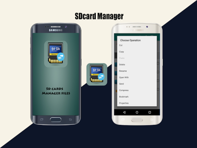 Sd cards Manager screenshot 1