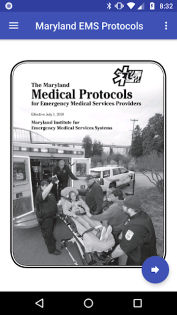 Maryland EMS Protocols 2018 screenshot 1