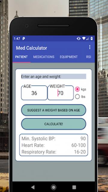 Medical Calculator screenshot 1