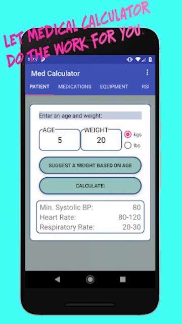 Medical Calculator screenshot 7
