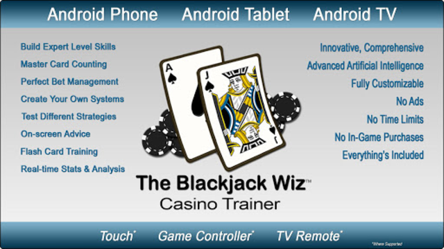 Blackjack Wiz Casino Trainer screenshot 1
