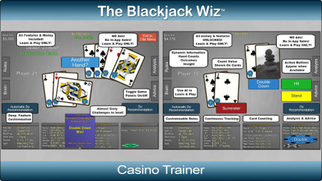 Blackjack Wiz Casino Trainer screenshot 4