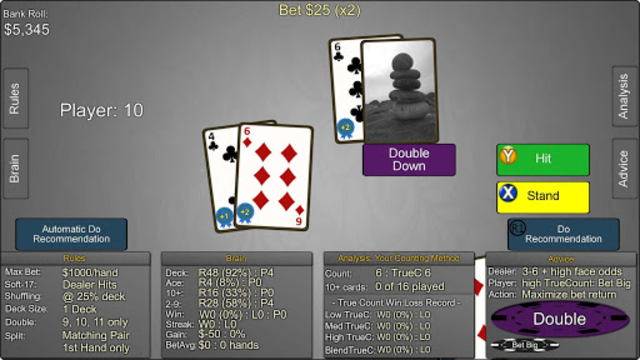 Blackjack Wiz Casino Trainer screenshot 6