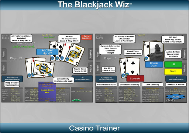 Blackjack Wiz Casino Trainer screenshot 12