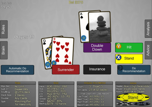 Blackjack Wiz Casino Trainer screenshot 14
