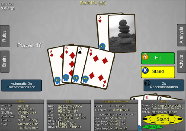 Blackjack Wiz Casino Trainer screenshot 16