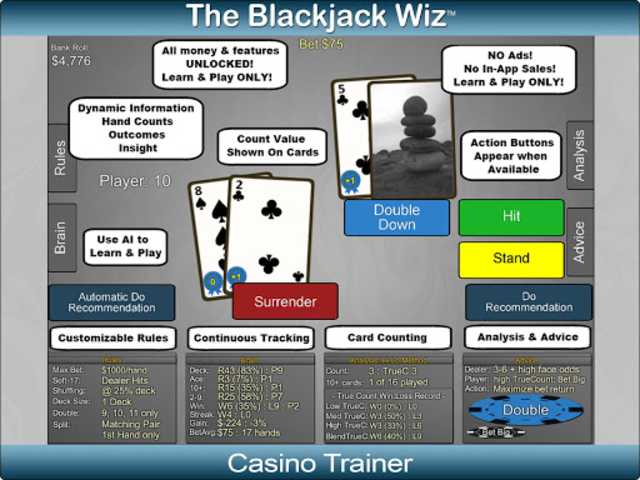 Blackjack Wiz Casino Trainer screenshot 20