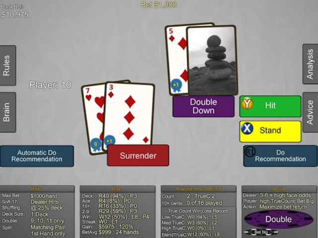Blackjack Wiz Casino Trainer screenshot 23