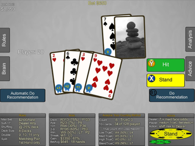 Blackjack Wiz Casino Trainer screenshot 24