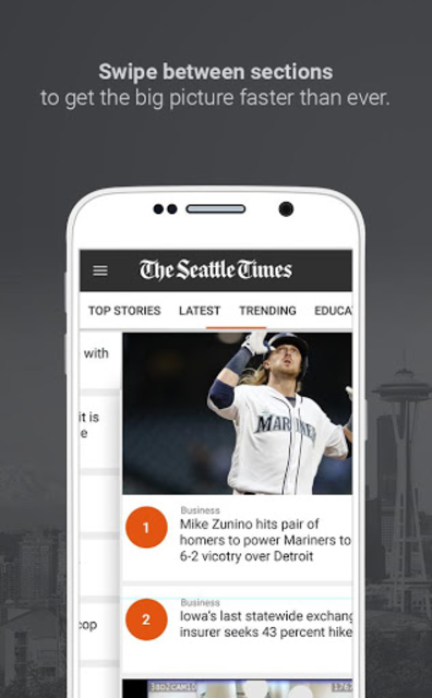The Seattle Times screenshot 4