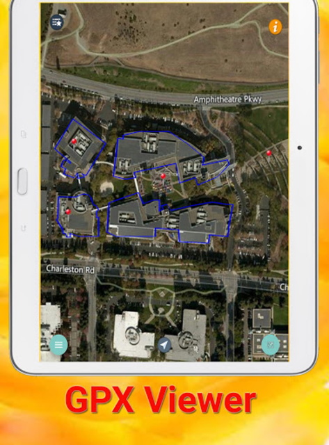 GPX KML KMZ Viewer and Converter on gps map pro