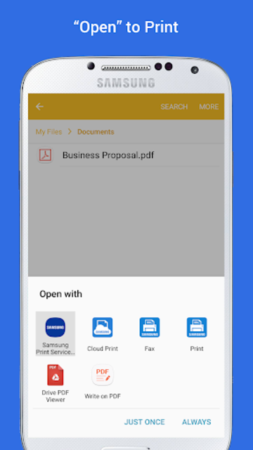 Samsung Print Service Plugin screenshot 4